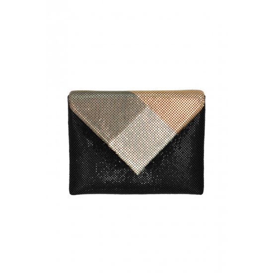 Color Block Envelope Clutch