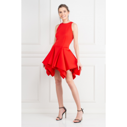 Red Claudia Dress