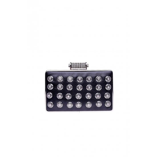 Black Crystal Minaudiere