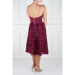 Azaelea Burgundy Dress