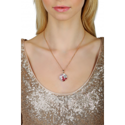 Crystal Mosaic Necklace