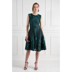 Emerald Mesh Dress