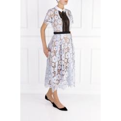 Flower Guipure Dress