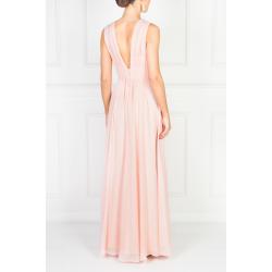 Flowing Pink Maxi Dress