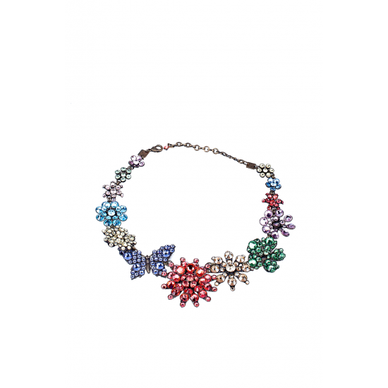 Butterfly Flowers Necklace