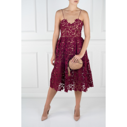 Azaelea Burgundy Dress
