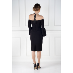 Black Amelie Dress