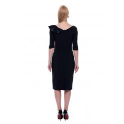 Black And Rose Dress
