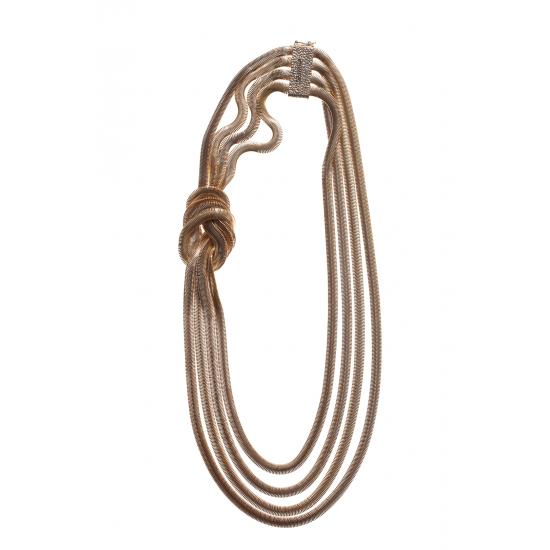 Mamba Gold-tone Necklace