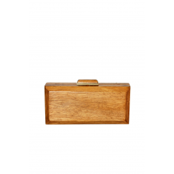 Natural Wooden Clutch