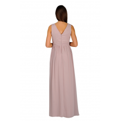 Applique Bodice Maxi Dress
