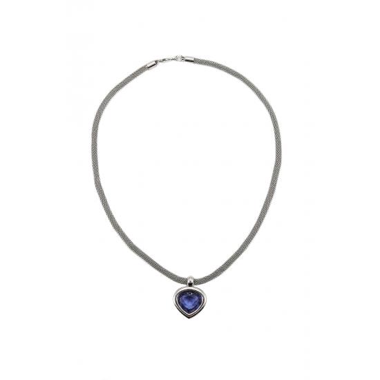 Purple Drop Necklace
