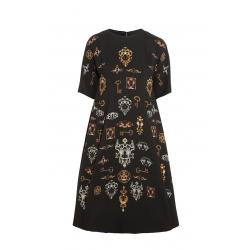 Vintage Key Dress